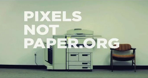 Pixel Not Paper / Photocopier